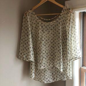 Tops - Shear blouse/top